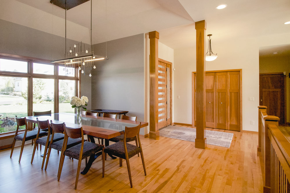 A Ranch style Home gets an Open Concept Renovation
