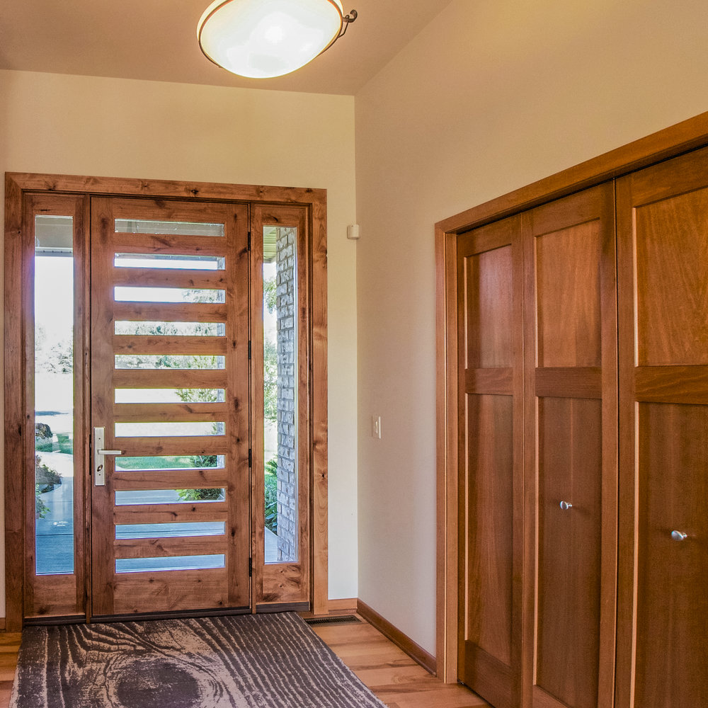 Eleven Light Modern Front Door