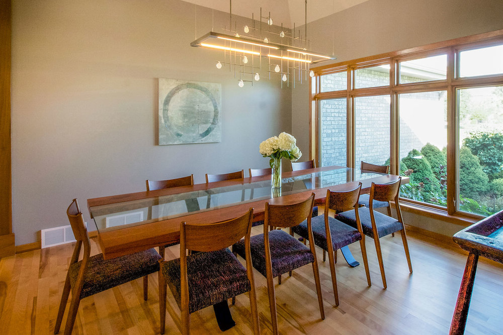 Danish Modern Dining Room