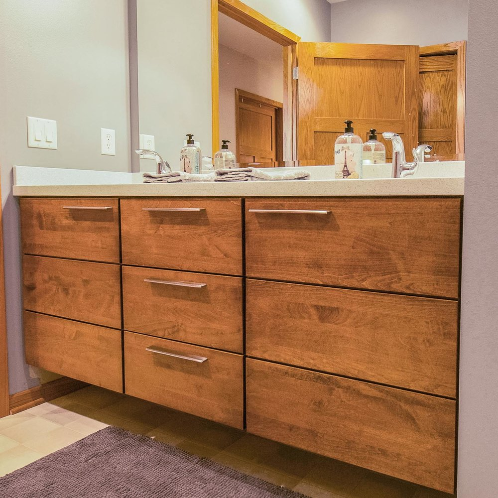 Master Bath Vanity Madison WI