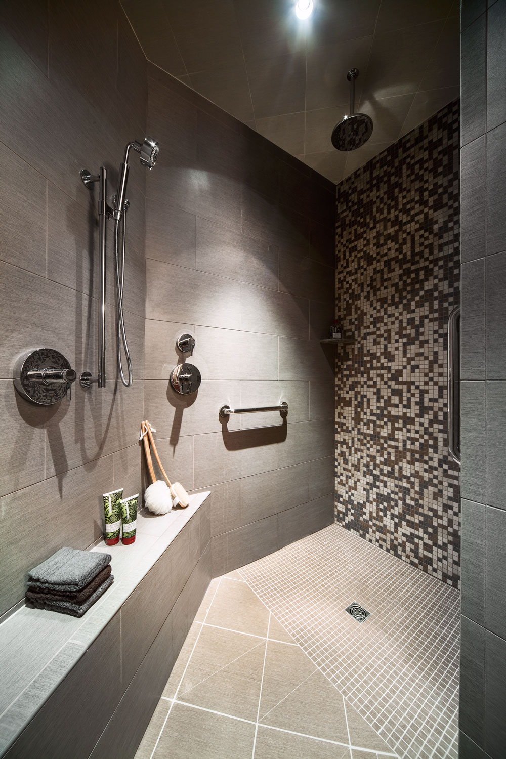 Master Suite Walk-In Shower