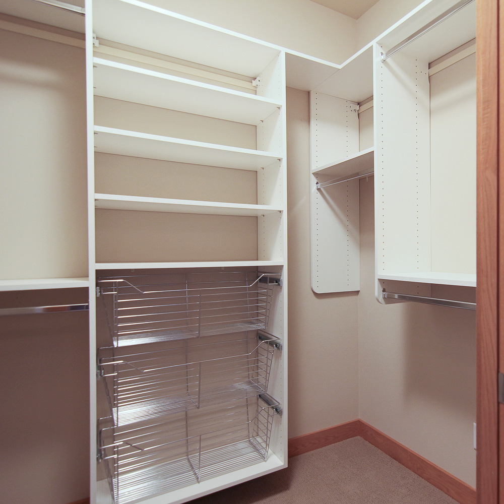 Walk-in Closet Off Of Master bathroom