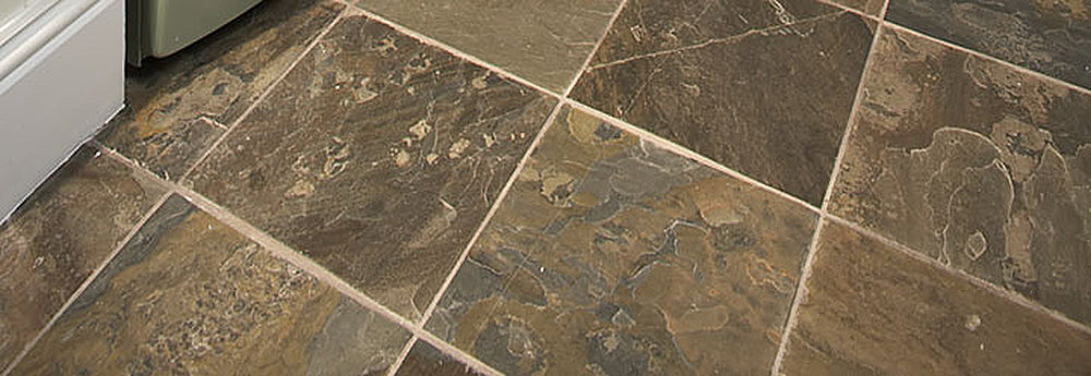Mud room floor tile image courtesy of Daltile