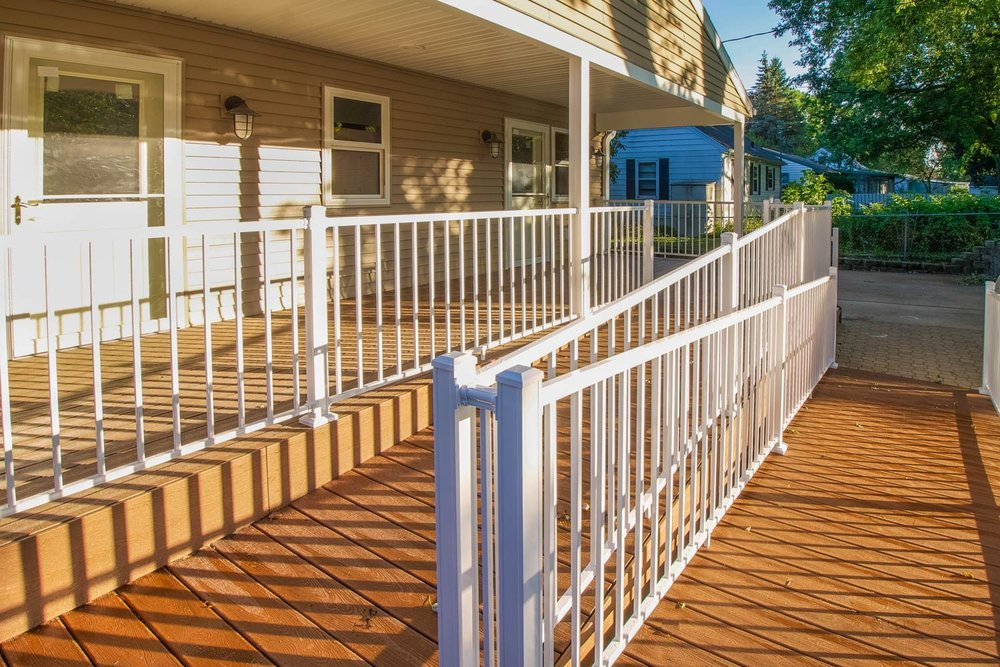 Wheelchair Ramp Aging in Place Madison, WI