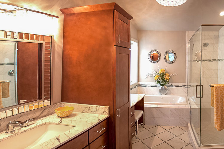 Home Remodeler Bathroom Layout And Design Strategy Degnan Design - Cost to build a bathroom