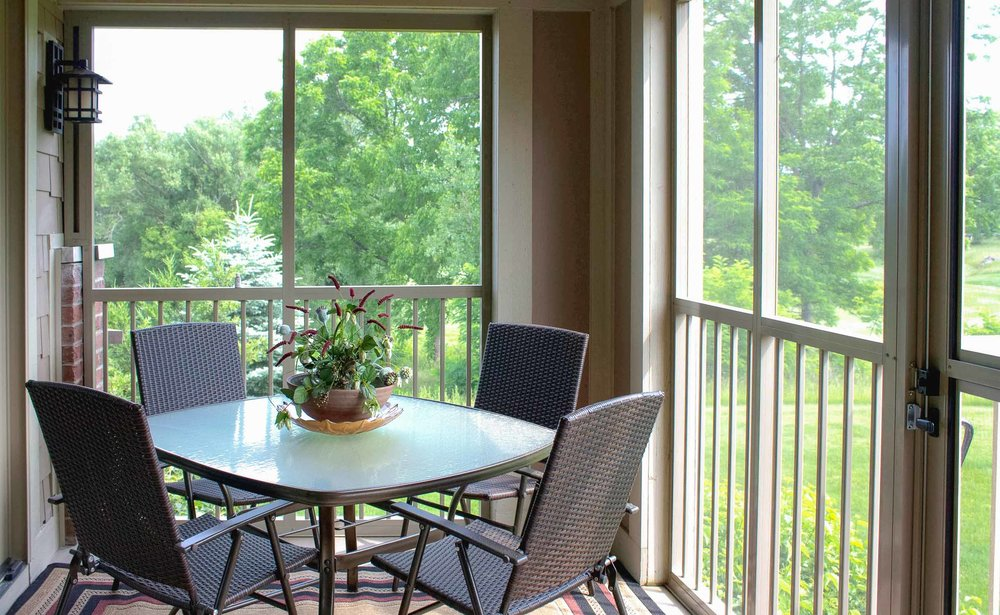 Condominium Screen Porch Addition