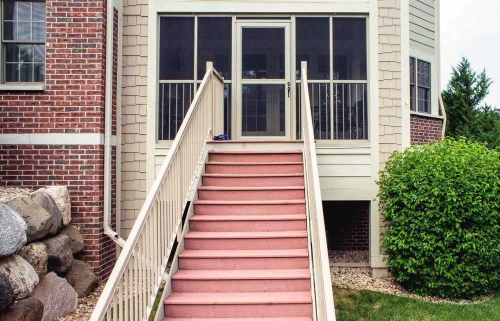 Condominium Renovation - Replacement Stair Case