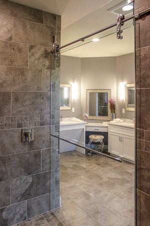 Learn Why The Barrier Free Shower Is A Bathroom Remodel Trend
