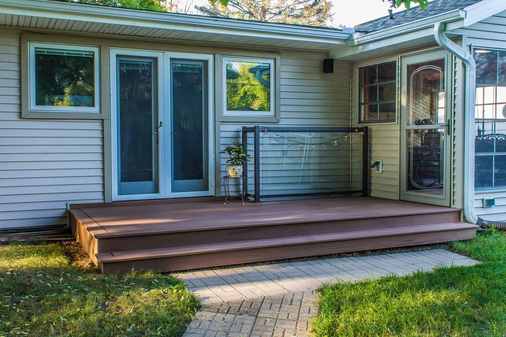 Three Season Porch Remodel with New Enlarged Deck