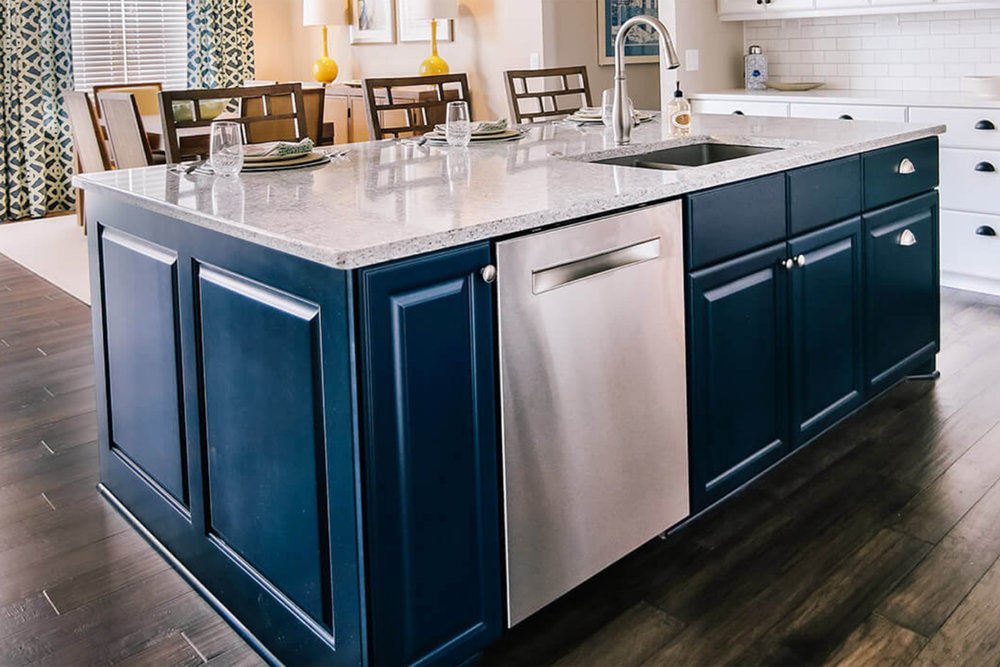 Merveilleux Black Painted Cabinets. Image Courtesy Of Auburn Ridge, Madison, WI