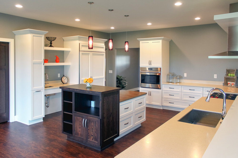 Remodeling A Kitchen Using Universal Design Techniques.