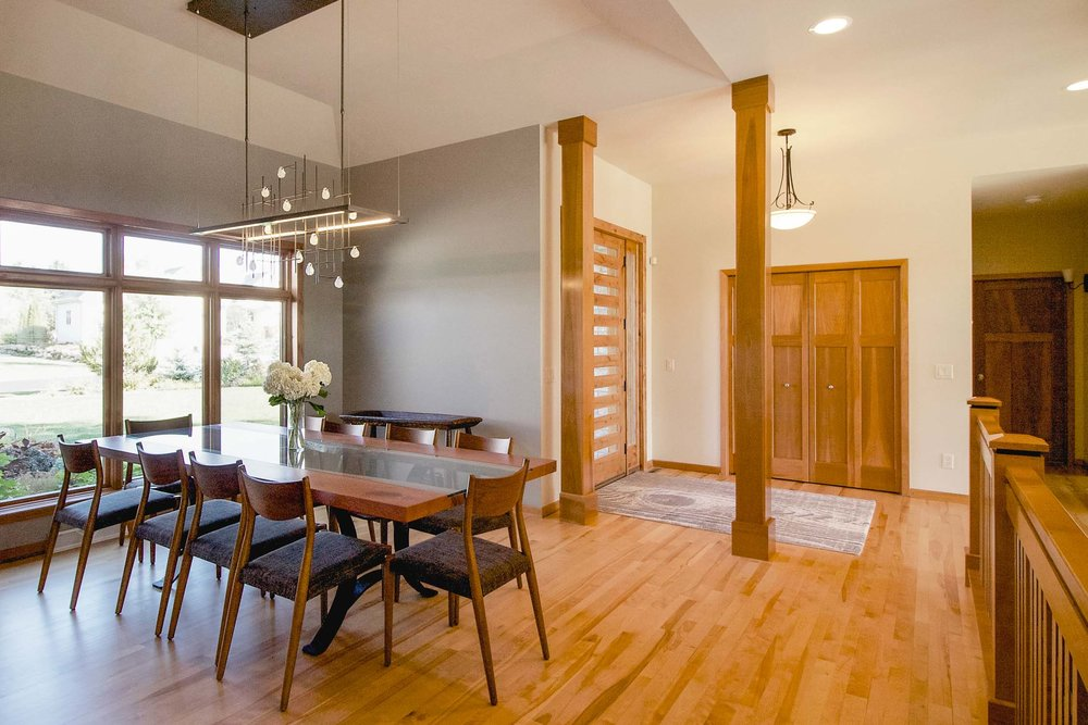 "solid 3/4"" thick hardwood plank flooring, finished on-site, remains a durable and refinishable option that can last a lifetime. it is an organic product that will change over time, developing character and patina."