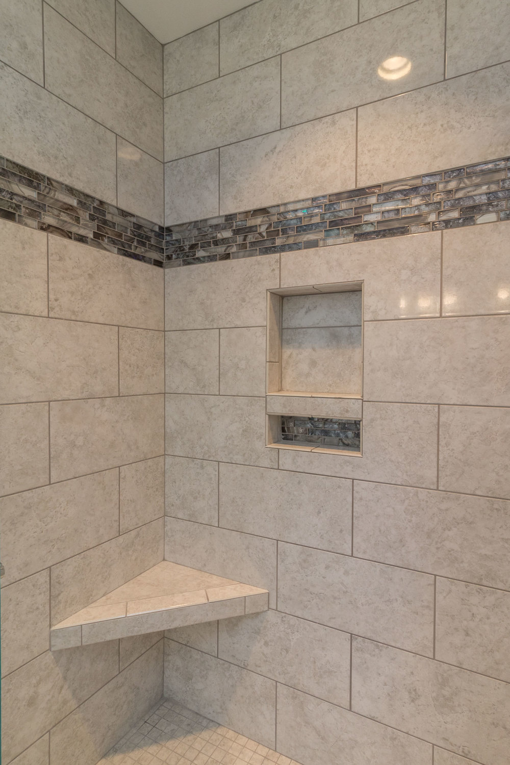 Bathroom Remodeling - A Custom Walk-in Shower