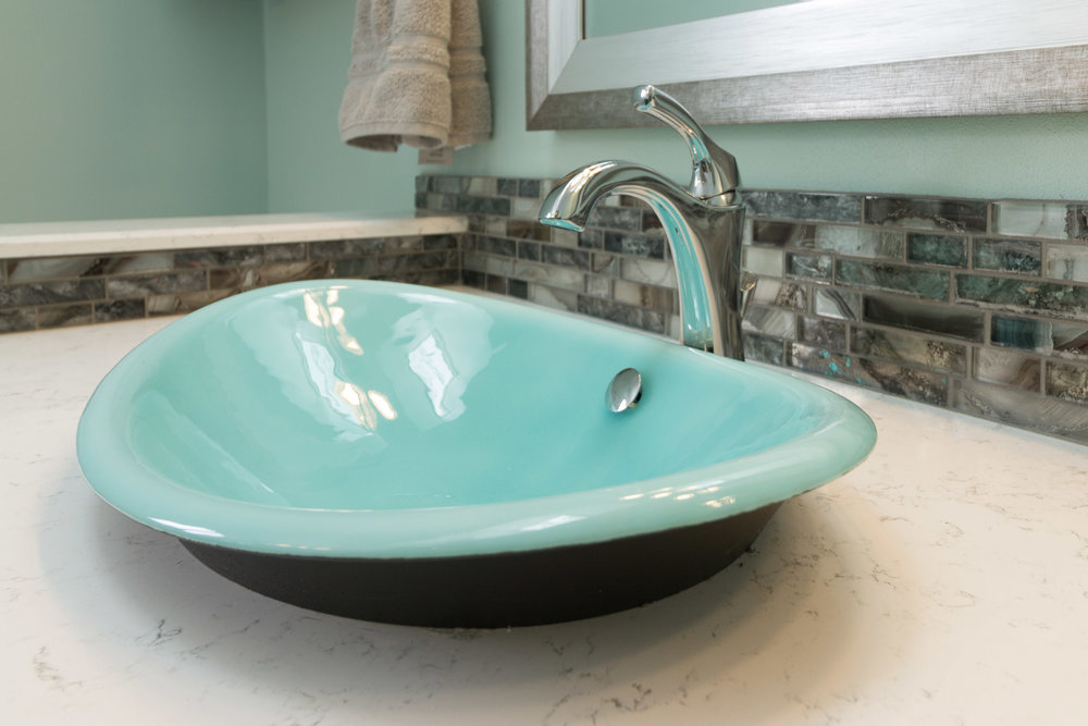 Vessel Sink Bathroom Remodeling Madison, WI
