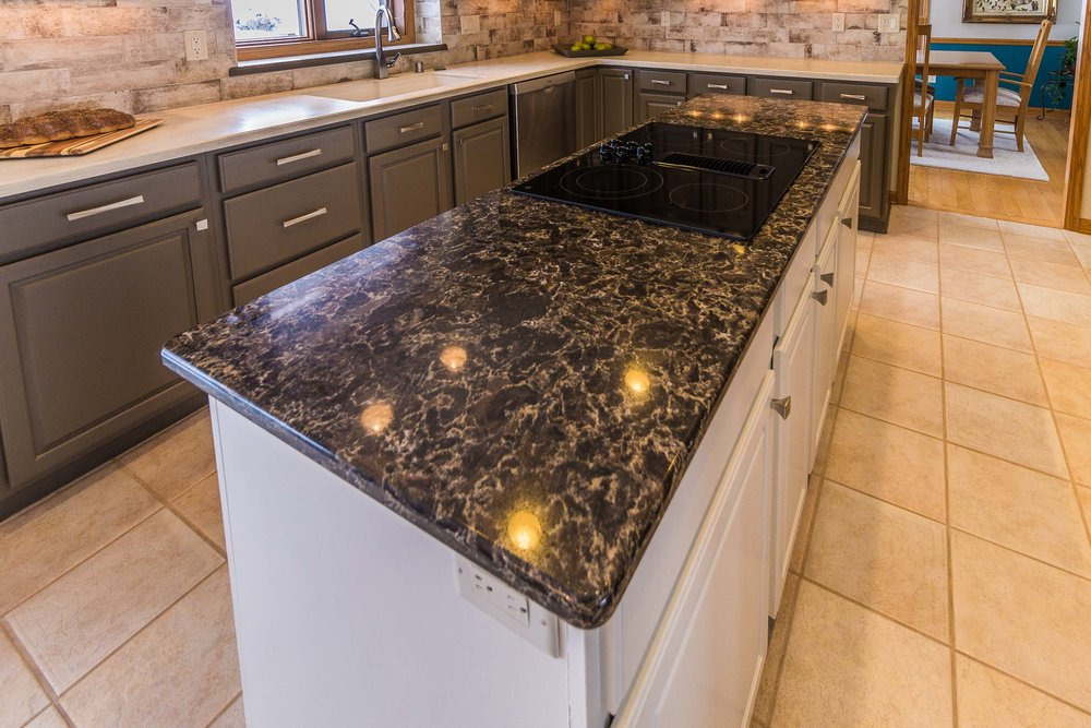The Kitchen Island Countertop By Cambria