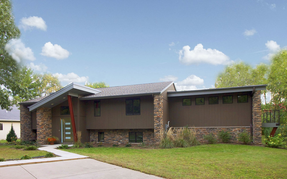 Open Concept Remodeling Ideas For A 1960 S Split Level House Degnan Design Build Remodel