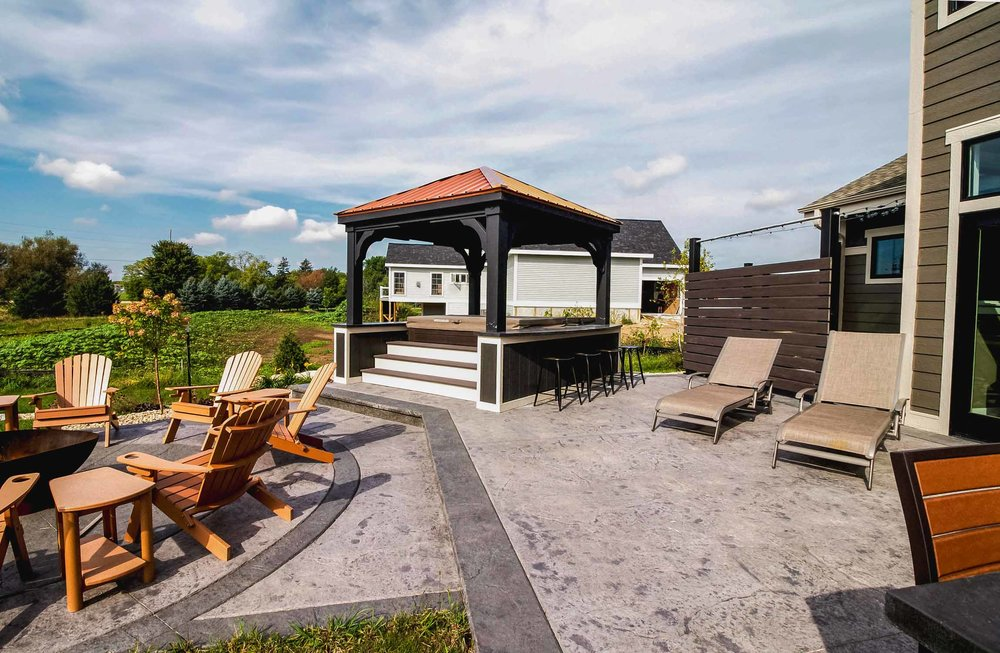 Outdoor Kitchens patios and Gazebos Remodeling and Design - Madison Wisconsin