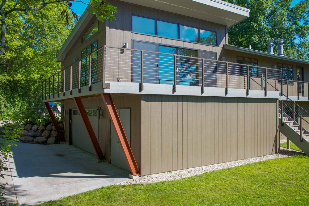 Over Garage Sunroom addition, Madison Wisconsin