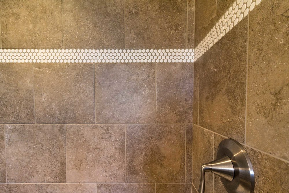 Lovely Choosing Grout Color For Bathroom Tile