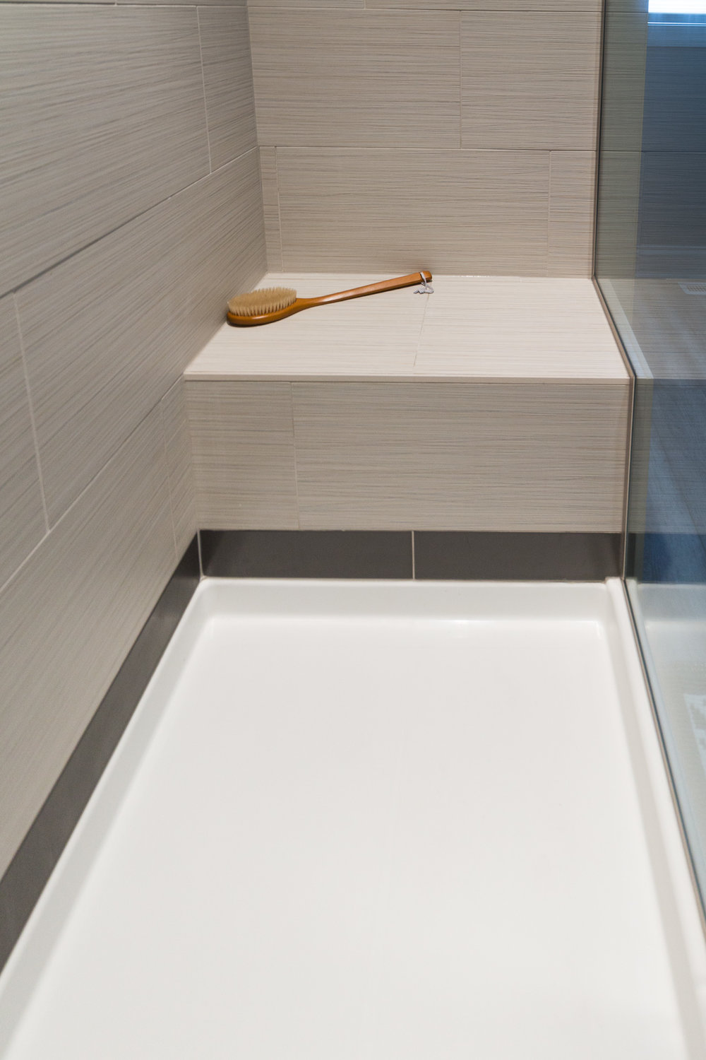Walk-in Shower With Seating