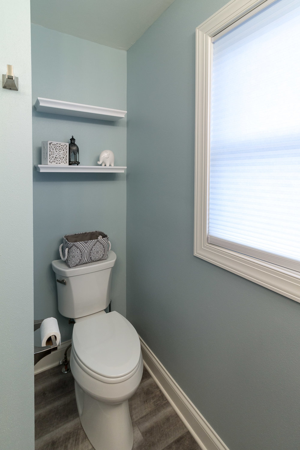 Separate Toilet Space In Master Bath