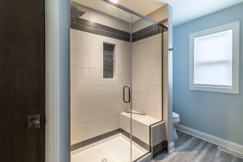 Modern Master Bathroom Suite Degnan Design Build Remodel