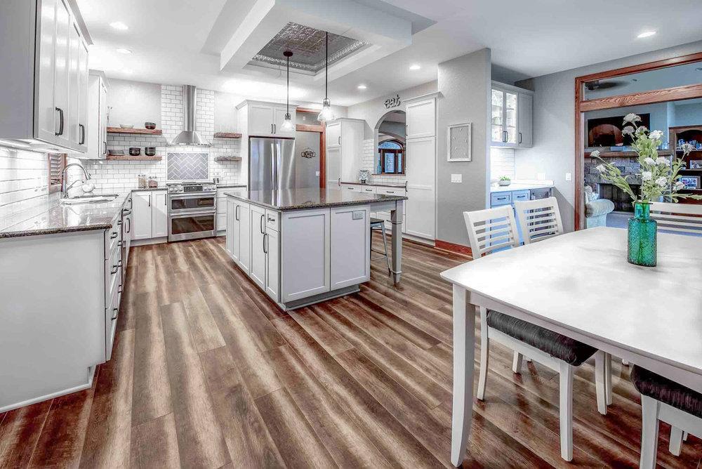 Contemporary Farmhouse Kitchen Remodel in Windsor, WI
