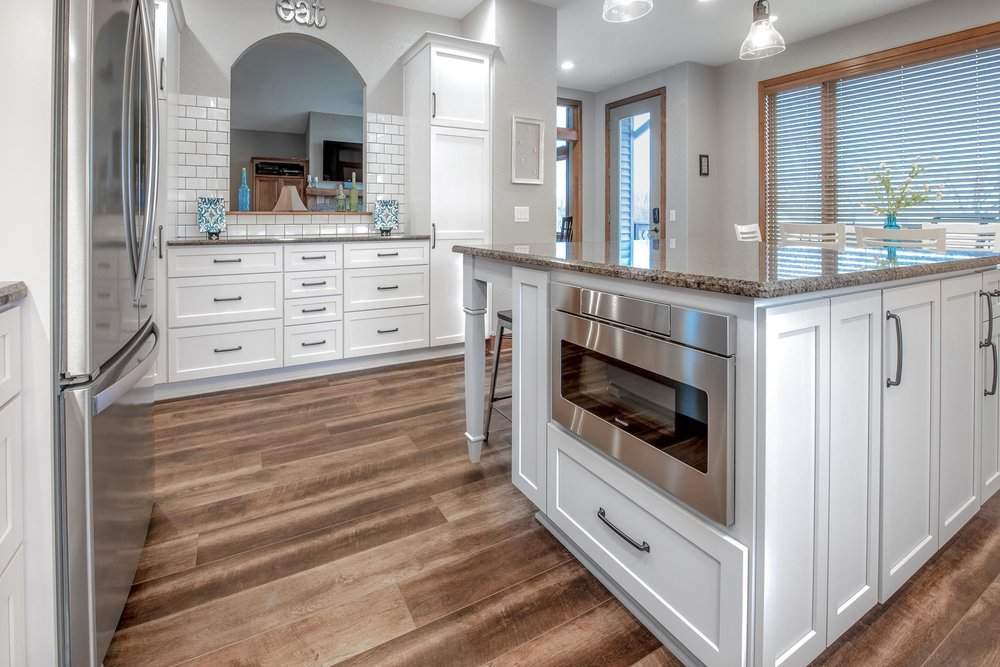 Kitchen Design with Shaker Cabinetry