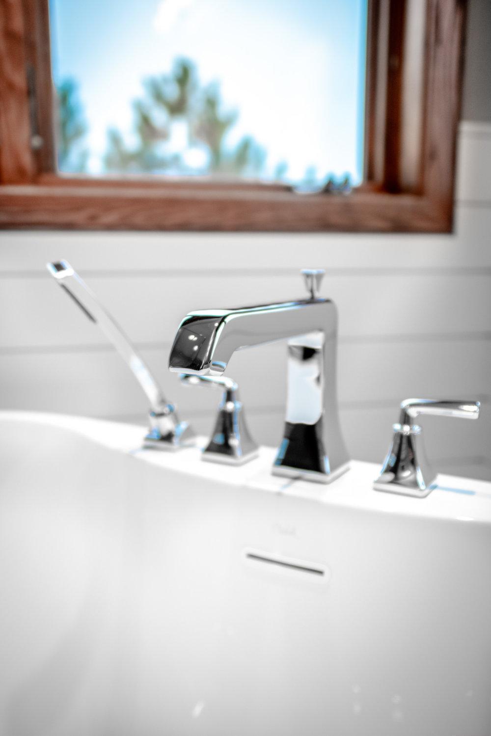 The Entire Bathroom Contains Pfister Park Avenue Bath Fixtures