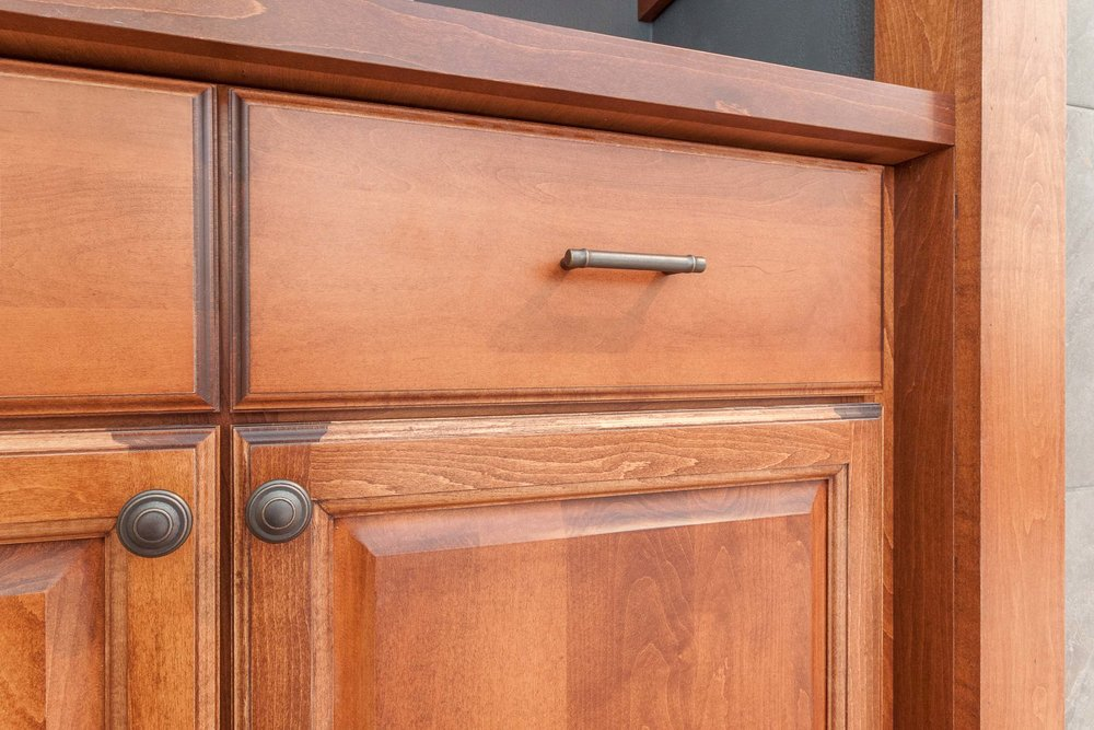 Family Room Built-In Cabinetry.