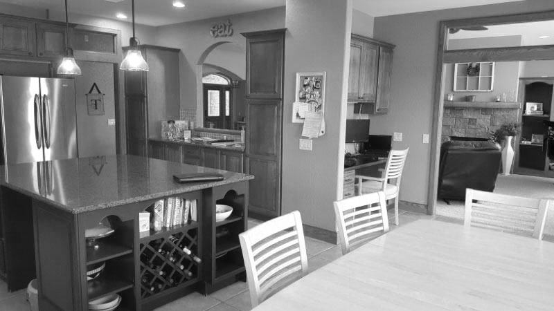 Before Image: Kitchen Design & Remodel - Click to view photos of the completed project.