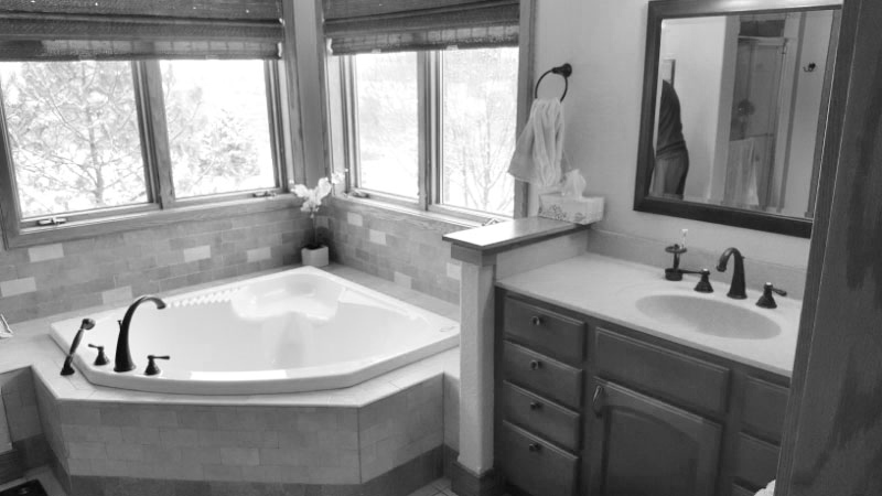 Before Image: Master Bath Design & Remodel - Click to view photos of the completed project.
