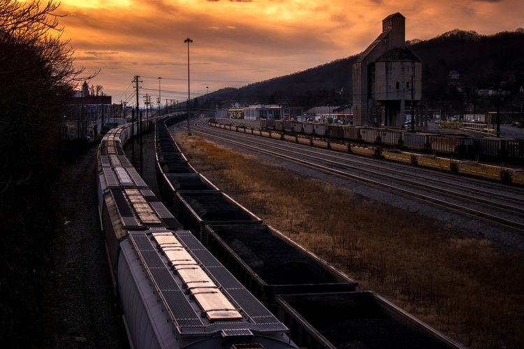 Bluefield  Rail Yard  (by Austin O'Connor)