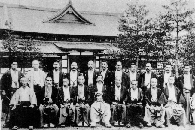 On July 24, 1905, representatives of the leading jujitsu schools (ryu) of Japan, gathered at the Butokukai Institute in Kyoto to agree upon the forms of Kodokan Judo and to continue the development of the technical forms of Kodokan Judo.