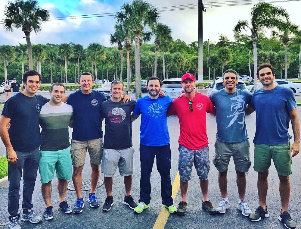 Joaquim,Joel, Eduardo, Jimmy, Burak, Bruce, Pedro and Gui