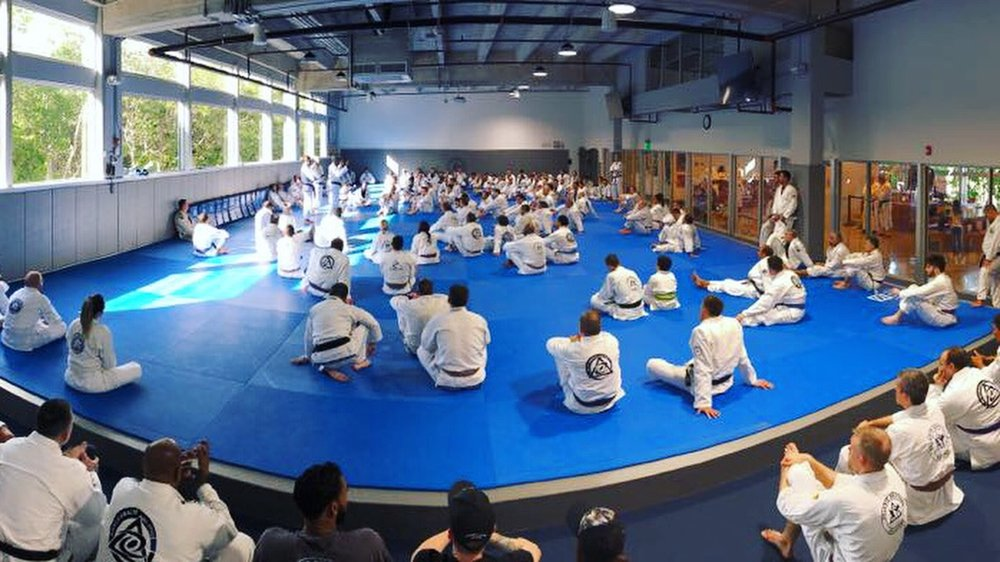 The Royce Gracie seminar