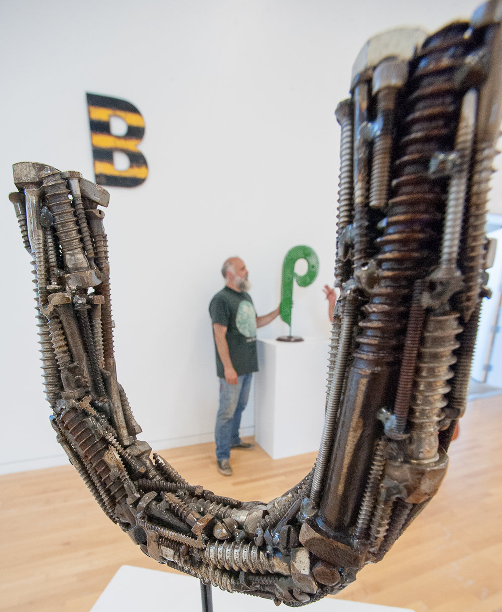 - 'Sculpture Soup' scrap art showing at UMFSUN JOURNAL
