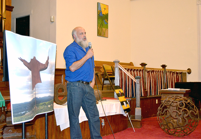 - Welder-Turned-Artist Delights at Historical Society TalkTHE LINCOLN COUNTY NEWS