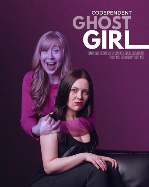 Let us have it #FanGhouls! Do you want to see more episodes? A TV series? Comic Books? A Movie?!?! Think of all the possibilities with Brett & Marjorie #ghostgirl #bffs #ghostbff #paranormal #supernatural #womeninfilm #filmposters #ghosts #ghostbusters #canitstillbehalloween #yeg #yegfilm #femaledirectors 💗👻🔪 @screamqueenb @samanthaquantz #nodeathdowepart