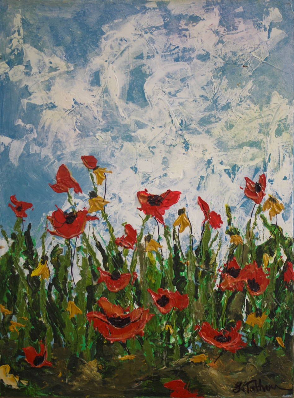 Red Poppies - 18