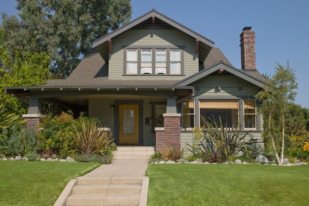 We love California craftsman homes.