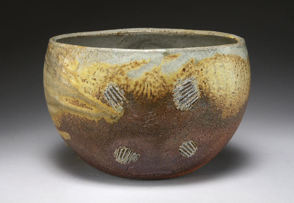 Pincus - Ovoid bowl with ash glaze - Large JPEG.jpg