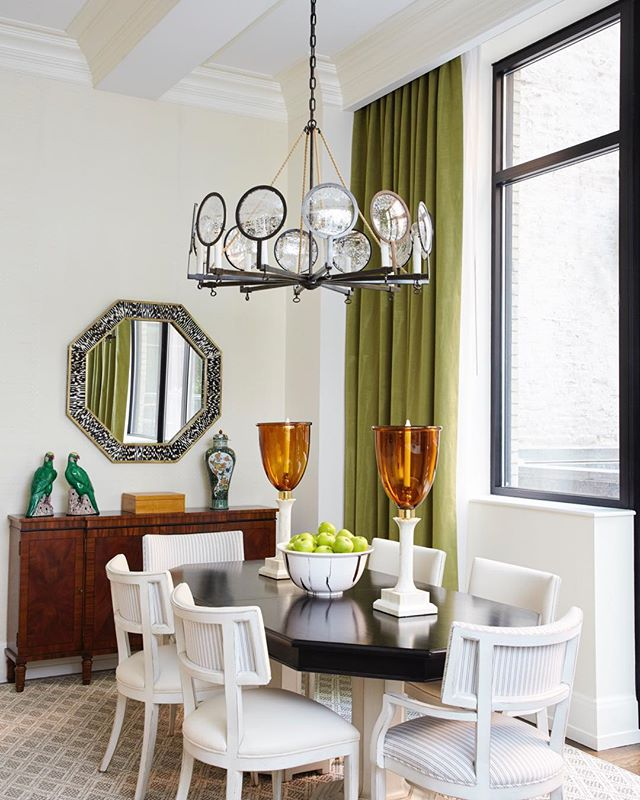 Throwing it back to this dining space by yours truly. 📷: @garruppo #jandgdesign