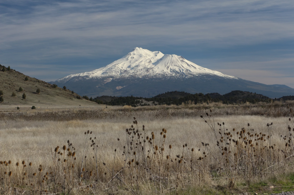 Mount Shasta North Face, by: Hal Hanesworth