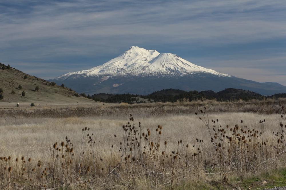 Mount Shasta North Face, by: Hal Hanesworth