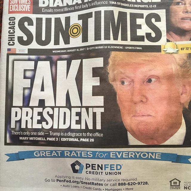 Well said Sun Times.