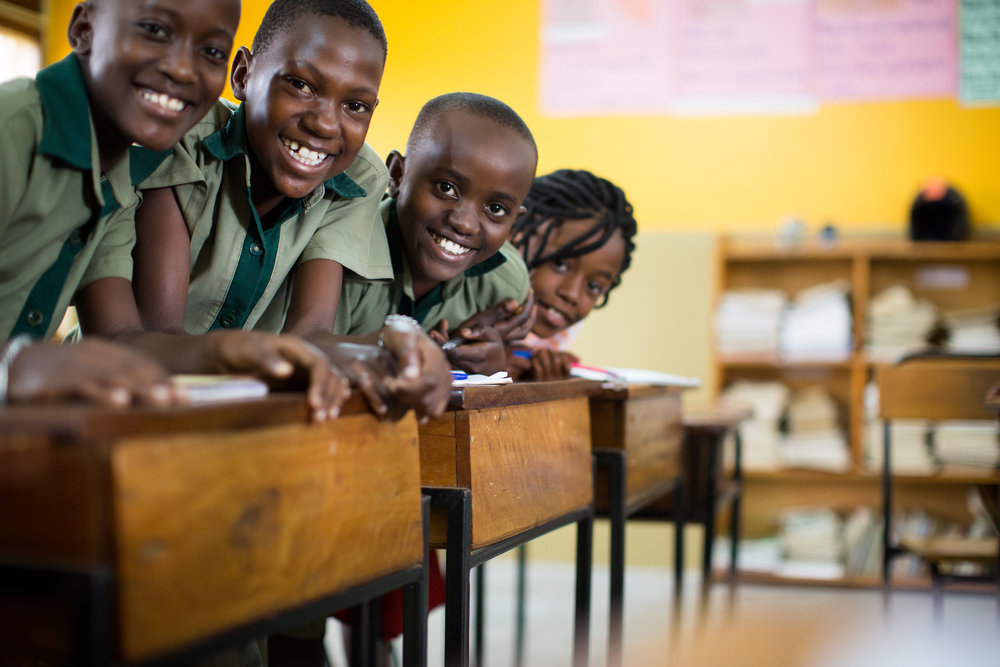 Sponsorship at this level covers operating costs for four children for one year.