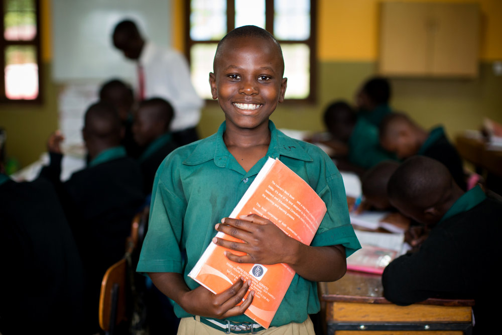Sponsorship at this level covers operating costs for one child for one year.