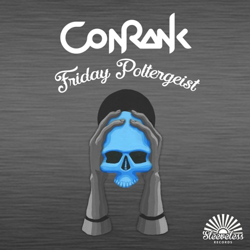 Conrank Friday Poltergeist cover - acrylic
