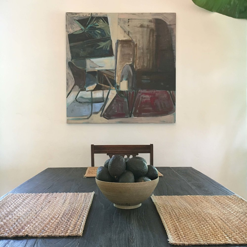 """Interior"" Painting in Dining room"